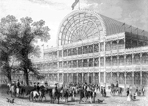 The Front Entrance of the Crystal Palace